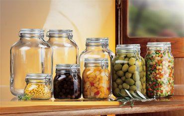 Einmachglas mit Bügelverschluss - Original Bormioli Fido - verschiedene Größen – Bild 1