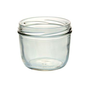 200er Set Sturzglas 230 ml Marmeladenglas Einmachglas Einweckglas To 82 schwarzer Deckel incl. Diamant-Zucker Gelierzauber Rezeptheft – Bild 2