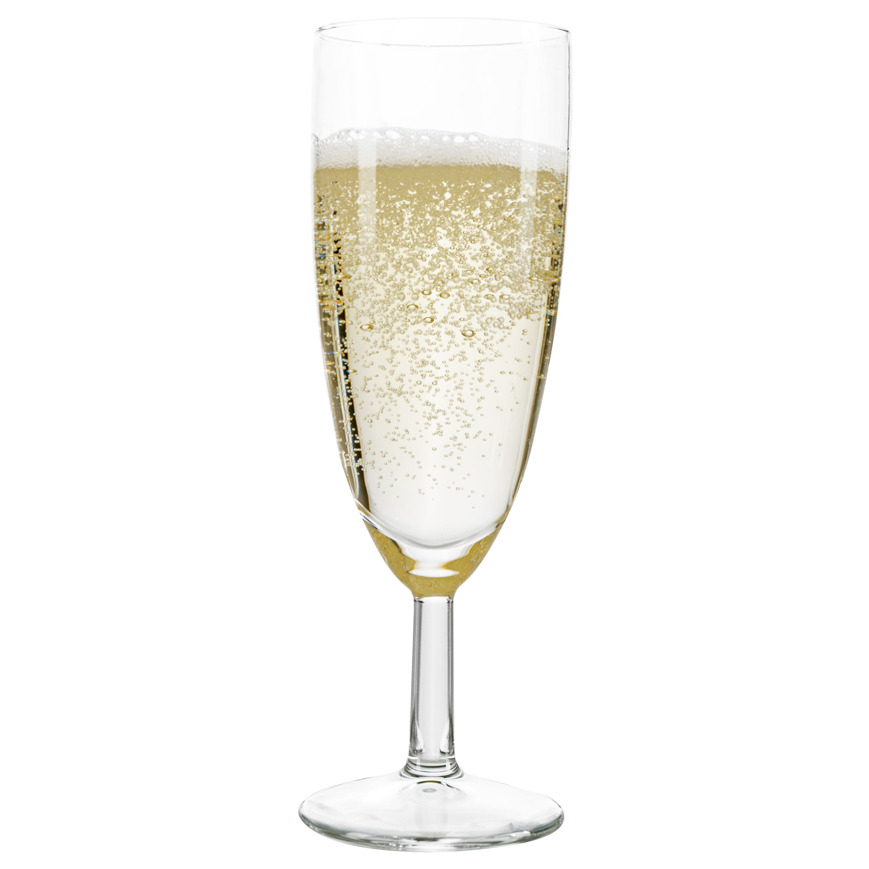 60er Set Royalty Sektgläser 16cl Sektglas Glas Sekt Prosecco Party 0,1L Gläser