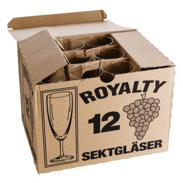 120er Set Royalty Sektgläser 16 cl ungeeicht – Bild 7