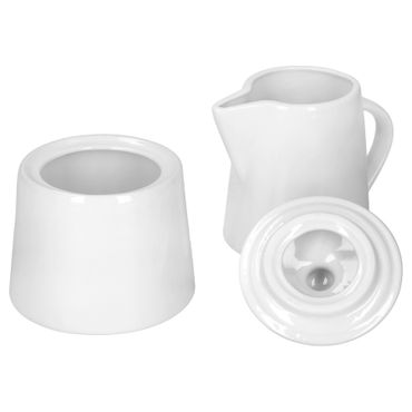2tlg. Set Milchkännchen 23cl & Zuckerdose 28cl Serie Lilli – Bild 1