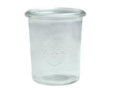 12er Set Weck Gläser 160 ml Sturzgläser incl. Diamant-Zucker Gelierzauber Rezeptheft – Bild 2