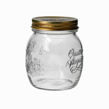 2er Set Quattro Stagioni Glas 0,70l Vorratsglas Einmachglas incl. Bormioli Rezeptheft – Bild 3