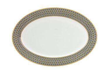 Platte Honey, oval 30x21cm