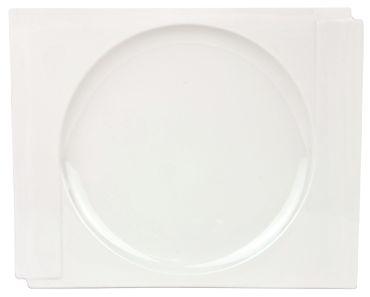 60tlg. Kombiservice Estelle für 12 Personen weiß rund und eckig zugleich – Bild 2