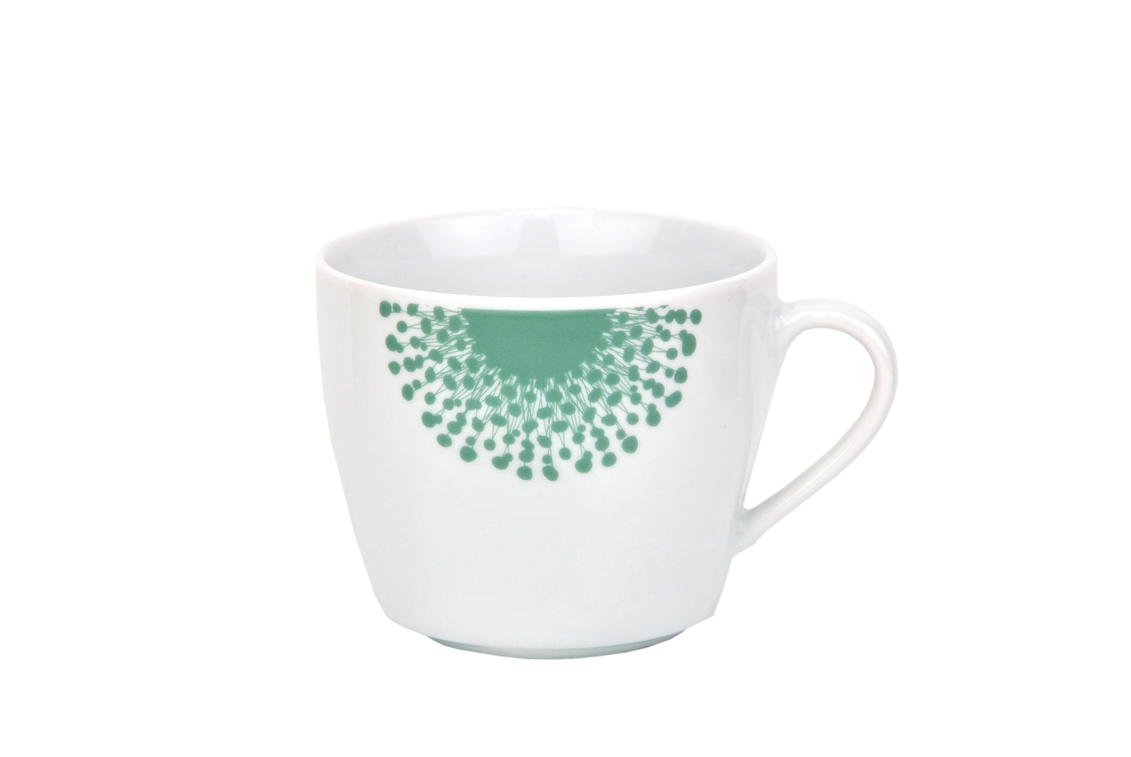 kaffeetasse mit untertasse modena pusteblume porzellan tassen und becher. Black Bedroom Furniture Sets. Home Design Ideas