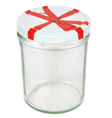 12er Set Sturzglas 435 ml To 82 Schleifendekor Deckel incl. Diamant Gelierzauber Rezeptheft – Bild 2
