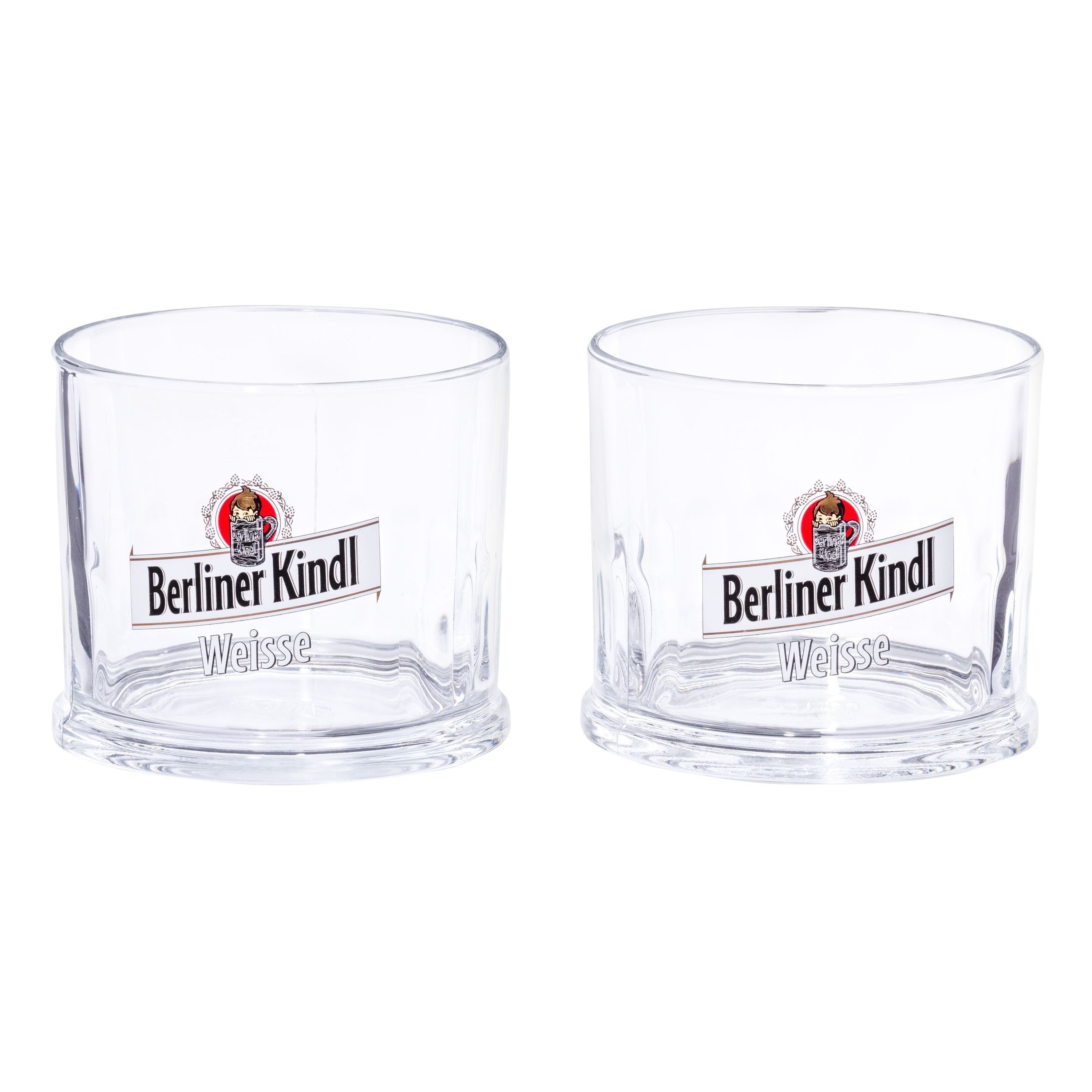 2er set original berliner kindl weisse klauenglas 0 3l glas biergl ser. Black Bedroom Furniture Sets. Home Design Ideas