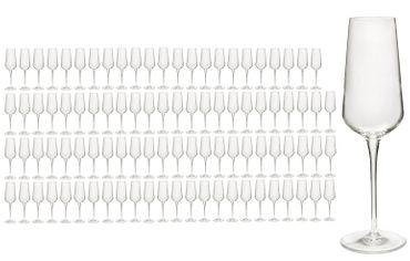 96er Set Sektgläser inAlto 28 cl Champagnergläser aus erstklassigem Kristallglas, bessere Bruchfestigkeit, filigranes Design – Bild 1