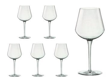 6er Set Weingläser Small inAlto 38 cl aus erstklassigem Kristallglas, bessere Bruchfestigkeit, filigranes Design – Bild 1