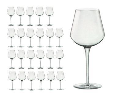 24er Set Weingläser Medium inAlto 47 cl aus erstklassigem Kristallglas, bessere Bruchfestigkeit, filigranes Design – Bild 1