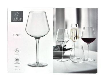12er Set Weingläser Large inAlto 56 cl aus erstklassigem Kristallglas, bessere Bruchfestigkeit, filigranes Design – Bild 4