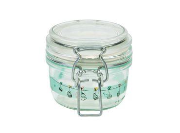 12er Set Einmachglas Bügelverschluss Fido 0,125L Cake&Co grün incl. Bormioli Rezeptheft – Bild 5