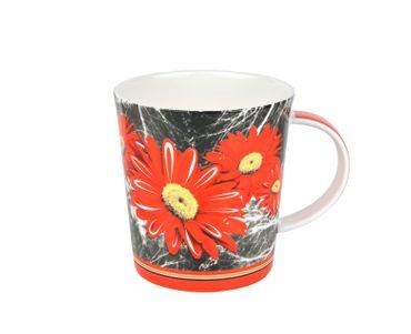3-tlg. Jameson & Tailor Tee-Set - Teekanne mit 2 Teetassen Modern - Gerbera - 4740 + 2x 4742 incl. Teeprobe – Bild 4