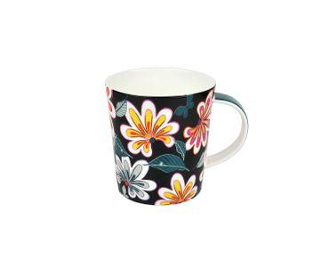 3-tlg. Jameson & Tailor Tee-Set - Teekanne mit 2 Teetassen Modern - Blumen-Dekor - 4760 + 2x 4762 incl. Teeprobe