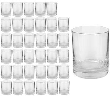 36er Set Whiskyglas Gala 250 ml Tumbler – Bild 1
