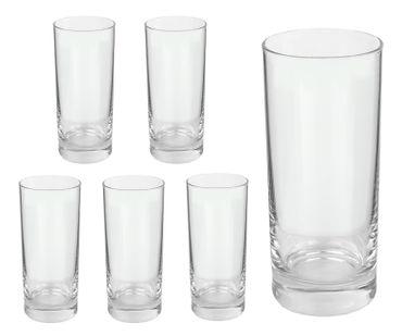 6er Set Longdrinkglas Gala 280 ml Wasserglas Tumbler – Bild 1
