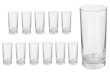 12er Set Longdrinkglas Gala 280 ml Wasserglas Tumbler – Bild 1