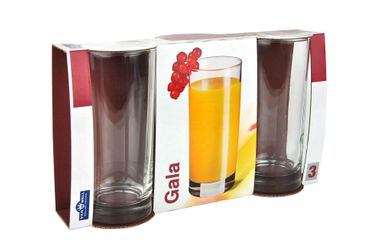 48er Set Longdrinkglas Gala 280 ml Wasserglas Tumbler – Bild 3