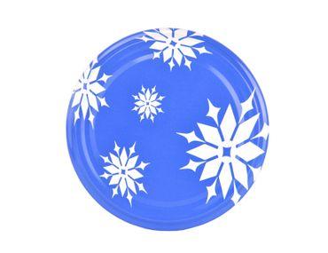 50er Set Sturzglas 350 ml To 82 Deckel Schneeflocke incl. Diamant Gelierzauber Rezeptheft – Bild 3