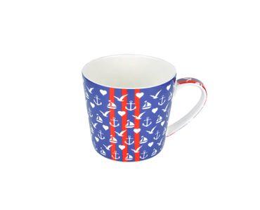 3-tlg. Jameson & Tailor Tee-Set - Teekanne mit 2 Teetassen - Küstenliebe - 4120 + 2x 4122 incl. Teeprobe – Bild 3