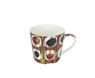 3-tlg. Jameson & Tailor Tee-Set - Teekanne mit 2 Teetassen - Shabby Chic Holz rot - 4200 + 2x 4202 incl. Teeprobe – Bild 3