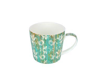 3-tlg. Jameson & Tailor Tee-Set - Teekanne mit 2 Teetassen - Shabby Chic Holz grün - 4210 + 2x 4212 incl. Teeprobe – Bild 3