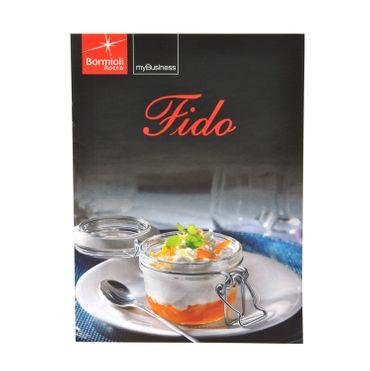 6er Set Einmachglas Bügelverschluss Original Fido 0,35L incl. Bormioli Rezeptheft – Bild 3