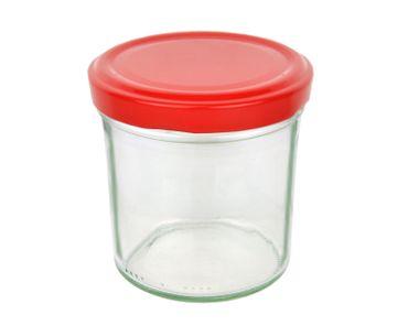 12er Set Sturzglas 350 ml To 82 Piros Deckel incl. Diamant Gelierzauber Rezeptheft