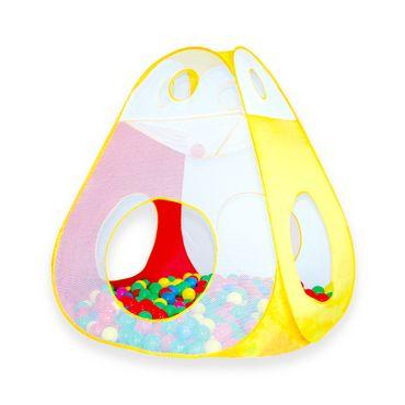 Kinderzelt Bällebad Bälle Spielzelt Spielhaus Babyzelt Indoor Zelt – Bild 3