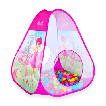 Kinderzelt Bällebad Bälle Spielzelt Spielhaus Babyzelt Indoor Zelt – Bild 2