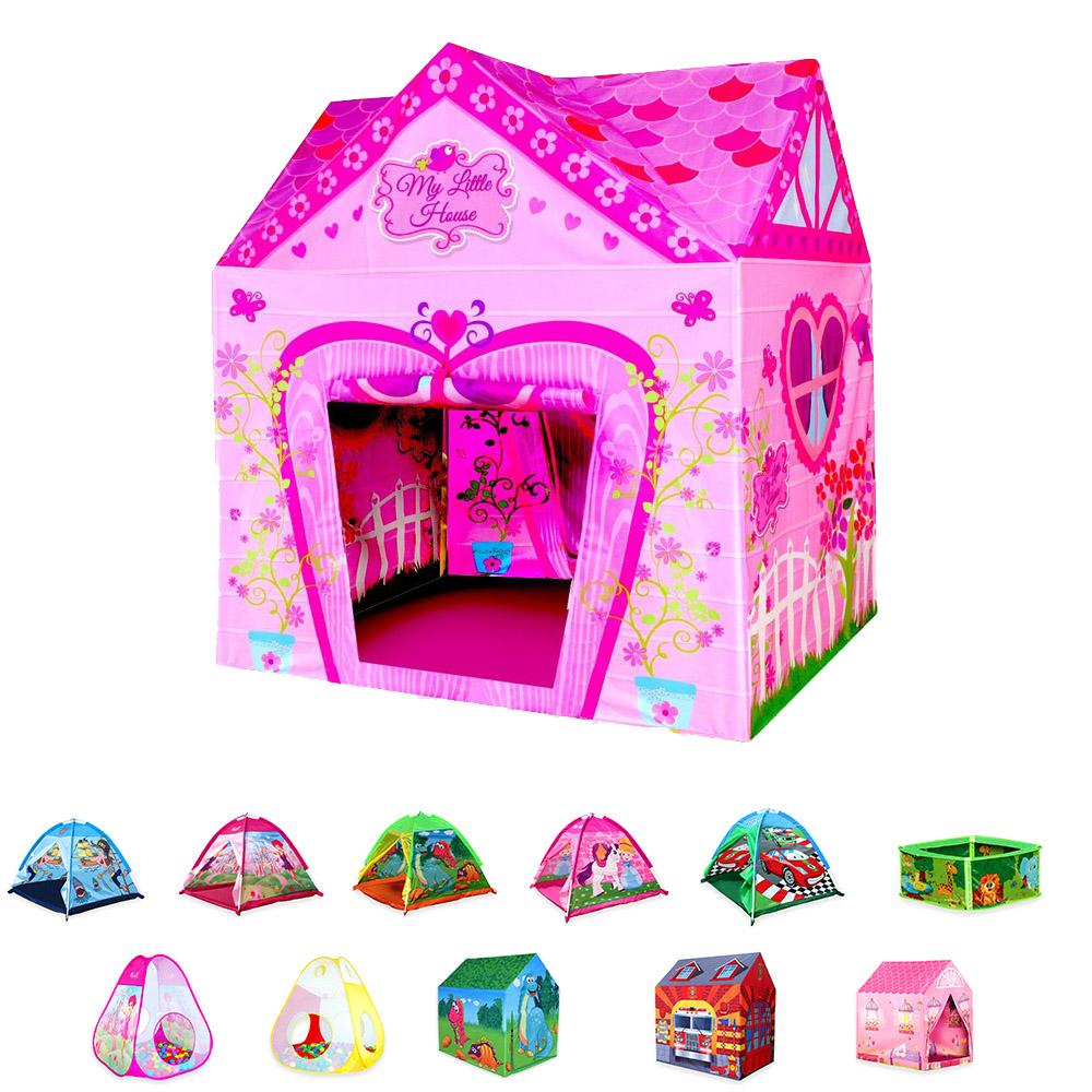 Wubox Kinderspielhaus - Zelt, Bällebad, Spielhaus für Kinder und ...