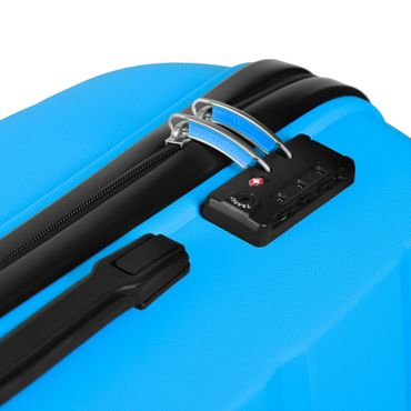 Reisekoffer Gr. XL 120L Premium Hartschalenkoffer Handgepäck Trolley Reisetasche – Bild 6