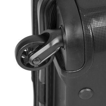 Reisekoffer Gr. M 40L Premium Hartschalenkoffer Handgepäck Trolley Reisetasche – Bild 12