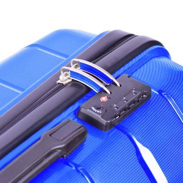 Reisekoffer Gr. M 40L Premium Hartschalenkoffer Handgepäck Trolley Reisetasche – Bild 10
