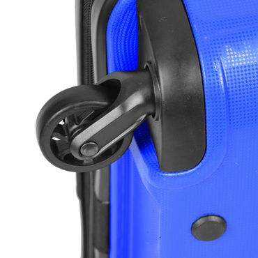 Reisekoffer Gr. L 78L Premium Hartschalenkoffer Handgepäck Trolley Reisetasche – Bild 13