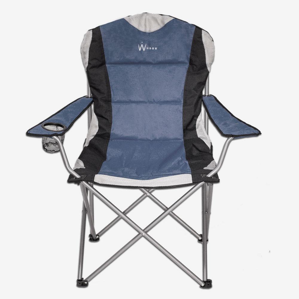 wubox campingstuhl faltbar leicht stabil luxus. Black Bedroom Furniture Sets. Home Design Ideas