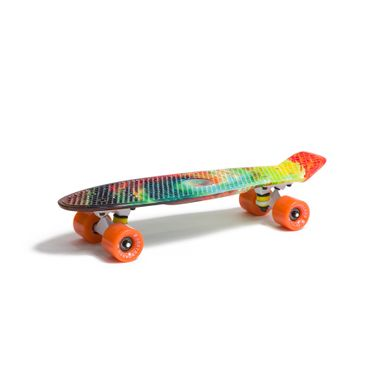 Water Drape Print Skateboard Penny Board Retro Mini Cruiser Patineta  – Bild 12