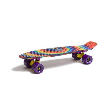 Water Drape Print Skateboard Penny Board Retro Mini Cruiser Patineta  – Bild 2
