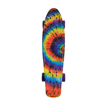 Water Drape Print Skateboard Penny Board Retro Mini Cruiser Patineta  – Bild 3