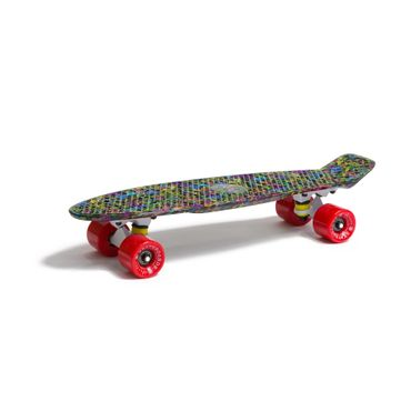 Water Drape Print Skateboard Penny Board Retro Mini Cruiser Patineta  – Bild 7