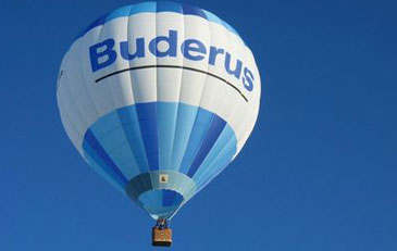 Bild: Buderus Heißluftballon