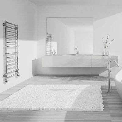 Designheizkörper im Badezimmer