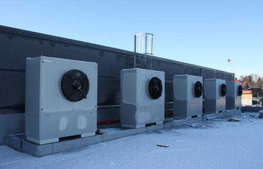 Dimplex Luft/Wasser Wärmepumpe