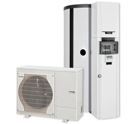 Remeha Wärmepumpen-System