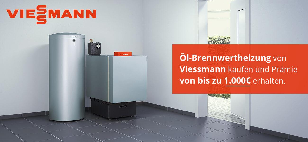 Viessmann Öl-Brennwertheizung Banner