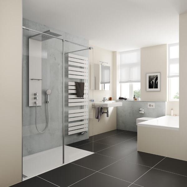 Badezimmer Dusche ohne Barriere