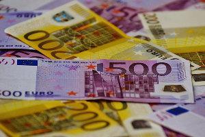 500€ Scheine und 200€ Scheine