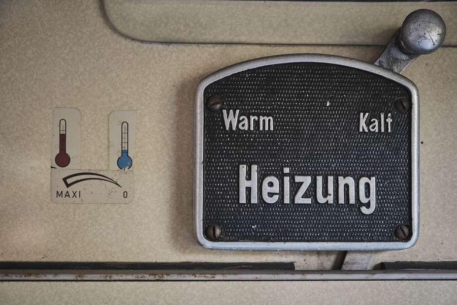 Heizung ausgefallen - Bild von Heizung auf kalt