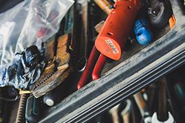 Details Werkzeugkasten